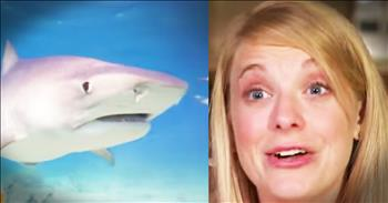 Mom Prays During Shark Attack