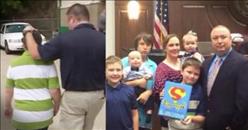 Officer Adopts Boy And Girl After Child Abuse Case
