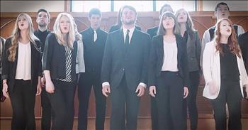 A Cappella Worship Of 'What A Beautiful Name' In Church