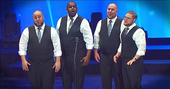 Barbershop Quartet Performs 'Dance With My Father'