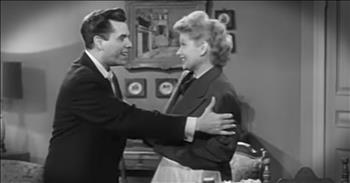 Rare Footage From The 'I Love Lucy' Set