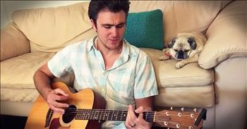 Singing Vet Serenades Pug
