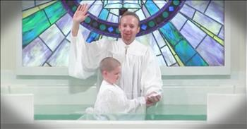 Little Boy's Baptism Goes Hilariously Wrong