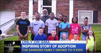 Parents Adopt Sisters Of Their 4 Foster Sons