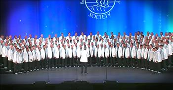 Barbershop Harmony Group Performs 'Danny Boy'