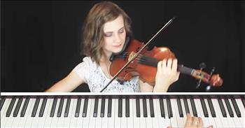Violin And Piano Celtic Hymn Medley