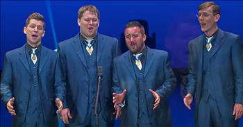 Barbershop Quartet Sings Bing Crosby Classic