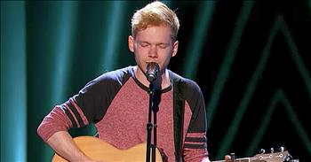 21-Year-Old's Original Song Earns Golden Buzzer