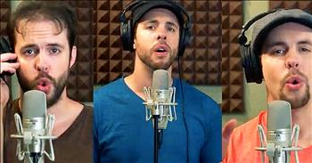 1 Man A Cappella Rendition Of 'I Live For You'