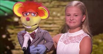 12-Year-Old Ventriloquist Sings The Jackson 5's 'Who's Lovin' You'