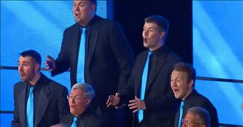 Barbershop Group Performs Aladdin's 'A Whole New World'