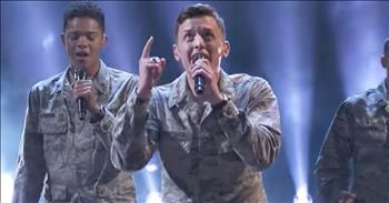 A Cappella Air Force Choir Sings 'Some Nights' Cover