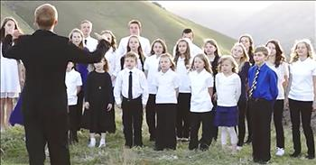 Children's Choir Sings Christian Version Of 'Hallelujah'
