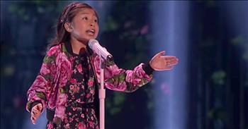 9-Year-Old Sings Power Ballad 'When You Believe'