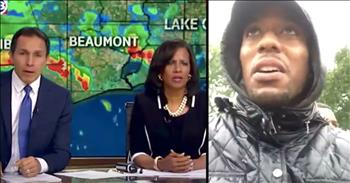 News Anchor Helps Deliver Baby During Hurricane Harvey