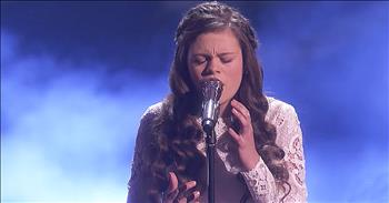 13-Year-Old Performs 'Gravity' On America's Got Talent