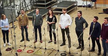 A Cappella Group Performs 'Shenandoah'