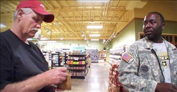 Strangers Pay For Veteran's Groceries