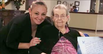 90-Year-Old Writes Letter Begging For Friend