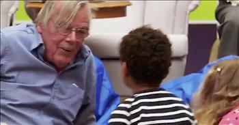 Preschoolers Bring Joy To Nursing Home