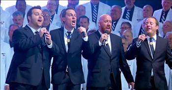 Barbershop Chorus Sings 'With a Little Help from My Friends'