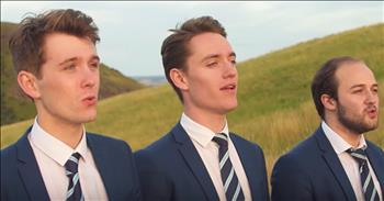 A Cappella Men's Group Performs 'Moon River'