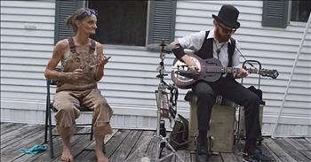 The Spoon Lady And Chris Rodrigues Perform 'Angels In Heaven'