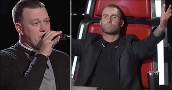 Man Cries After Audition Wins Over Judge
