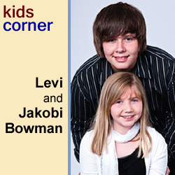 KIDSCORNER: Levi and Jakobi Bowman
