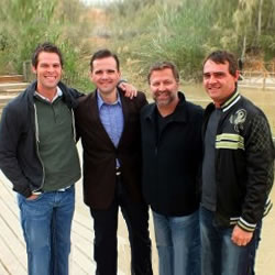 Canton Junction Quartet In Israel