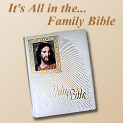 It's All In The... Family Bible