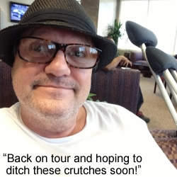 He's Ba-ack! Mark Lowry's back on the Gaither Vocal Band Tour