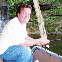Mark Lowry Goes Fishing
