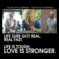 "USA Today features Jason Crabb's ""Love is Stronger"""