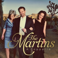 The Martins' new CD, A Cappella