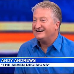 "Andy Andrews discusses ""The Seven Decisions"" on ""Good Morning America"""