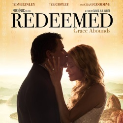 "Karen Peck Enjoys Second Film Role in ""Redeemed"""