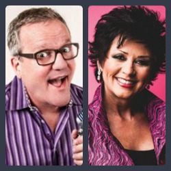 mark lowry and candy christmas recognized by gospel music association - Candy Christmas Gospel Singer