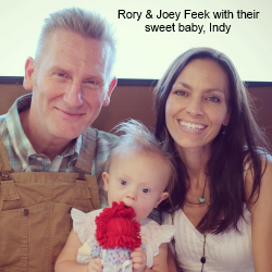 Joey + Rory Celebrate Milestone in Cancer Journey
