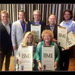 Southern Gospel Artists Honored at 2016 BMI Christian Awards