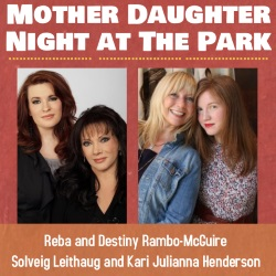 Mother/Daughter Concert features Reba Rambo-McGuire and Solveig Leithaug