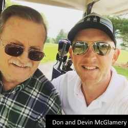 Devin McGlamery's Father Don Passes Away