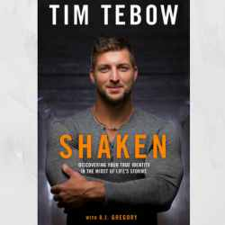 "Homecoming Insider Giveaway - Tim Tebow's Book, ""Shaken"""