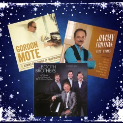 Homecoming Insider Giveaway - CD trio - Booth Bros., Jimmy Fortune and Gordon Mote!