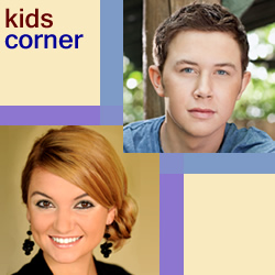 KIDSCORNER: Amber Nelon Thompson & Scotty McCreary