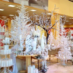 Gaither store white trees RS