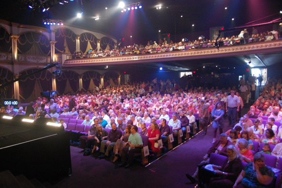 Packed house at Trinity Music City auditorium