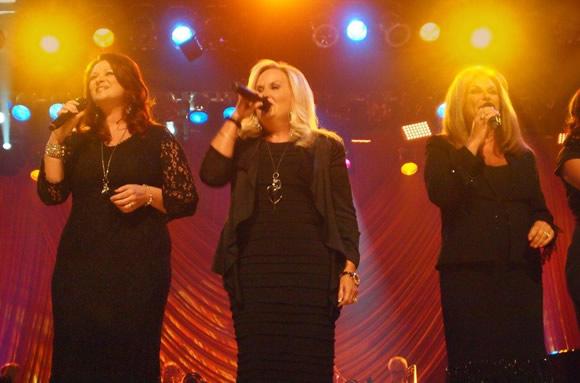 Charlotte Ritchie, Karen Peck, Kelly Nelon Clark