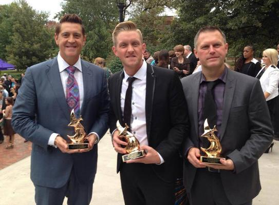 Ernie Haase, Devin McGlamery and Wayne Haun awarded for Country Gospel Song of the Year