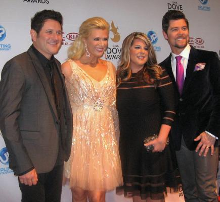 Jay and Allison DeMarcus with Shellye and Jason Crabb